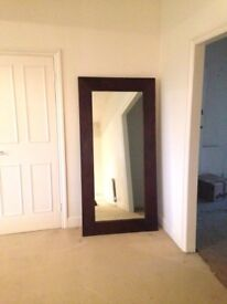 6ft XL Wood Mirror - High Quality! Open to Offers!