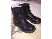 Dr Marten Black Patent Leather Size 5