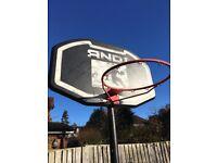 Adjustable AND1 Basketball Stand (moveable)