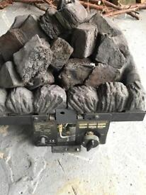 Gas fire perfect working condition