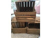 Shabby chic project - 6 apple crates
