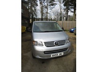 VW TRANSPORTER SHUTTLE T5 (8-SEATER) MINIBUS - EXTREMELY LOW MILEAGE (7000 MILES!), PRACTICALLY NEW