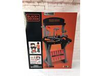 Brand new kids black & decker first workbench toys