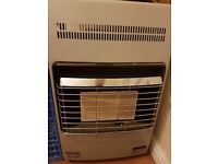 Delonghi gas heater with bottle (empty)