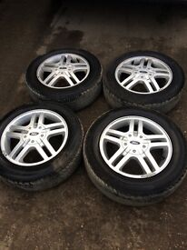 FORD SET OF 4 ALLOY WHEELS FROM A FOCUS