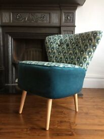 Handmade furniture - chaise longue, cocktail chairs, armchair brand new professionally upholstered