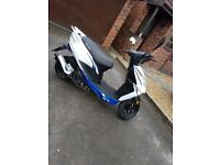 Lexmoto 2016 50cc scooter. With Accessories.