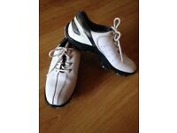 Child's footjoy golf shoes, size 2