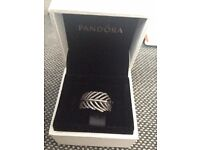 Pandora Fern Ring Size 56