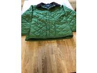 Genuine child's Barbour jacket