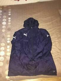 Mens xxl puma rainproof jacket
