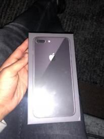 Apple iPhone 8 Plus 64gb unlocked brand new sealed