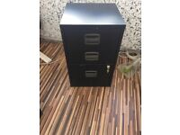 3 Drawer Lockable Under Desk Office Pedestal, Filling cabinet