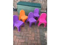 5 toddler chairs