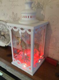 Unicorn xmas lantern
