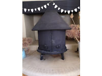 Jotul 6 woodburner with back boiler