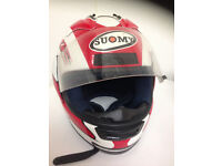 """SUOMY""YZF R-SERIES HELMET=LARGE IN VGC"