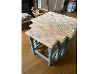 Beautiful Hand Painted Coffee Tables