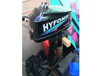 HY FONG 3.5 HP outboard motor