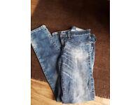 Diesel jeans aged 11