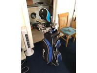 Golf Club Set and Bag