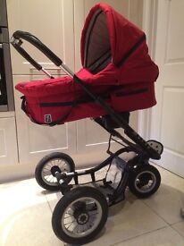 Mutsy Travel System with car seat, pram, stroller & accessories