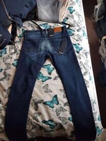 Mens firetrap jeans (blue)