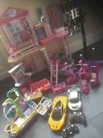 Job lot of kids toys