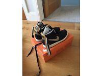 Nike Vandal Hi Black & Gold UK 7