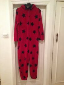 Onesie, small men's/boys age 15 to 16. Excellent condition clean and warm