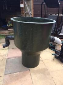 Pond vortex filter