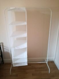 White shelving to sell