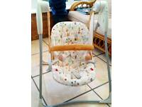 Baby electric swinging chair