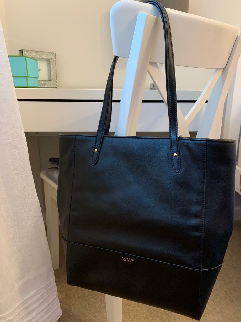 4310af7b88b Ralph Lauren leather tote bag - never used, in perfect condition with dust  bag