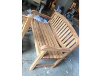 Hard wood benches new