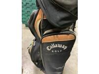 Golf equipment clubs bag