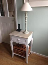 Lovely Telephone Table and Lamp