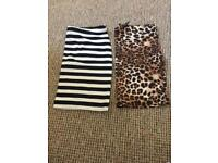 x2 skirts from H&M