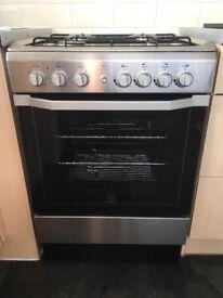 Dual fuel cooker