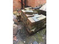FREE - Bricks - reclaimed mixed. Approx 100.