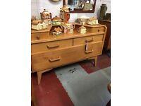 Retro g plan dressing table