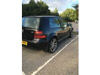 Volkswagen Golf 1.9 GT TDi 150 2002 mot 12/2016 sale or swaps