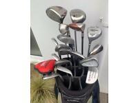 Taylor Made Left Handed Golf Clubs -Full Set -Graphite Shafts