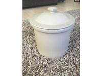 Large Ceramic Bread Bin