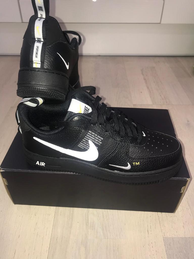 529f2f4252f Nike Air Force 1  07 LV8 Utility Black size 8