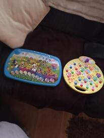 Two baby counting toys