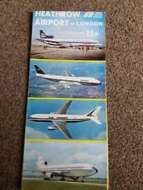 1972 heathrow airport guide