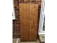 "New Shed Door 30"" by 67"""