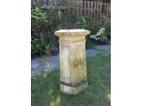 Reclaimed Victorian Chimney Pot - Garden / Plant Stand