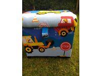 Toybox storage on wheels new condition
